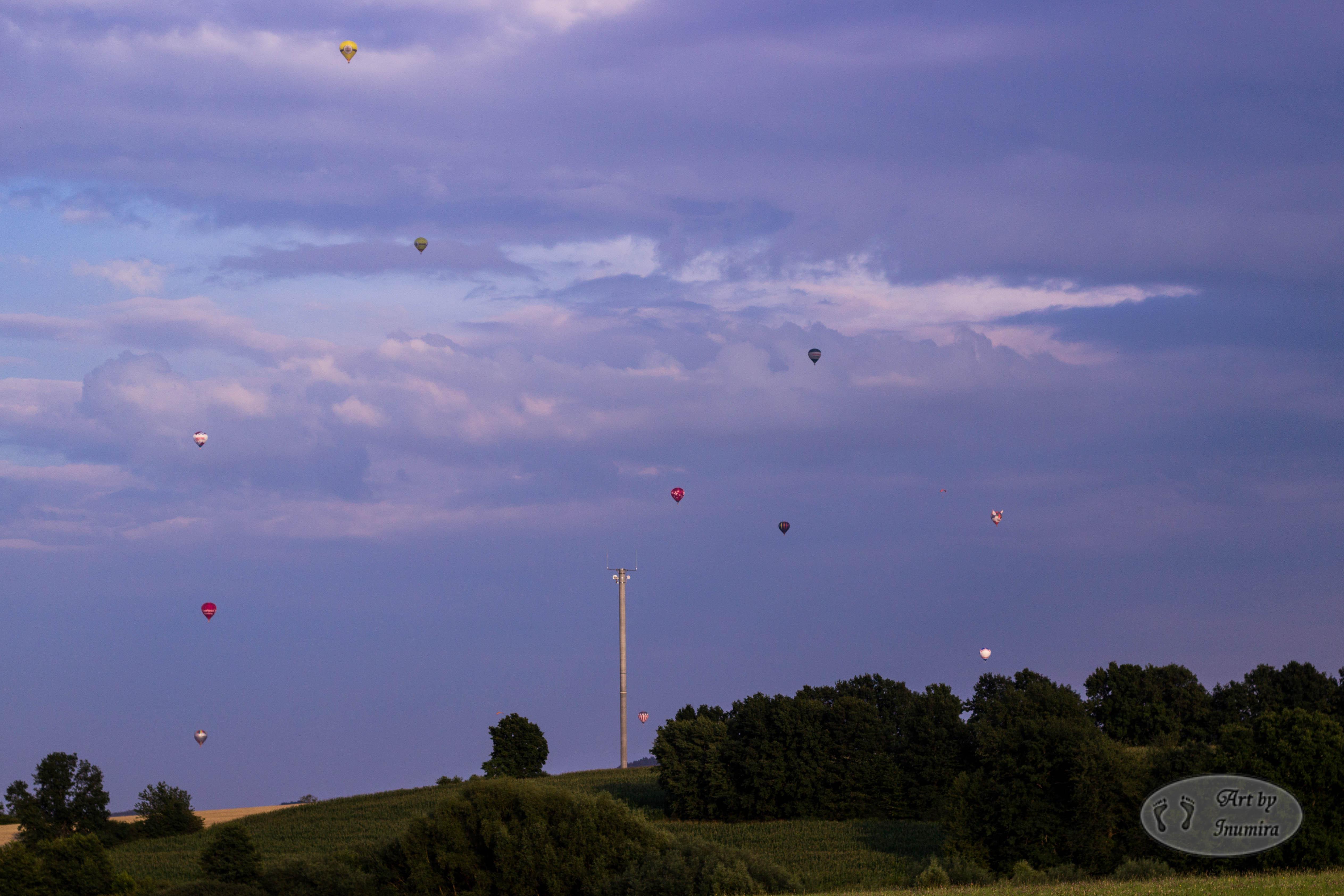 Ballons-vorher
